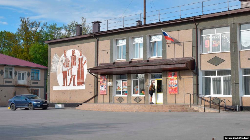 Терновский дом культуры и досуга, здание построено в 1968 году