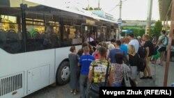 Городской автобус в Крыму. Иллюстрационное фото