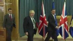 Boris Johnson në Kosovë