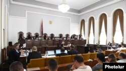 Armenia - Armenia's Constitutional Court opens hearings on opposition demands to overturn official results of the June 20 parliamentary elections, Yerevan, July 20, 2021.