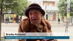 Građani Podgorice: 'Sa dva eura ne možeš ni mačku da nahraniš'