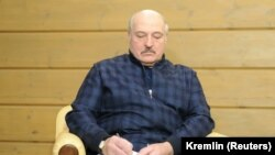 Александр Лукашенко, раиси ҷумҳури Белорус.