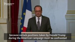 Hollande Says He Will Approach Trump With Vigilance