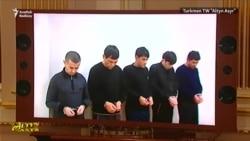 Türkmen telewideniýesi aglap 'toba edýän' erkekleri görkezdi