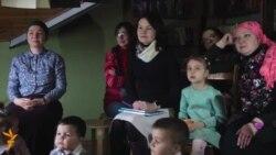 Азатлык Ана теле көнен татар балалары белән бәйрәм итте