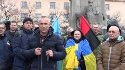 У Празі демонстранти вимагали підтримати блокаду Донбасу