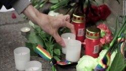 Петербург: памяти жертв в Орландо