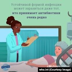 ВОЗ предупреждает насчет опасности хаотичного применения антибиотиков