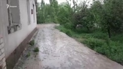 В регионах близ Аральского моря прошел долгожданный дождь