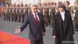 Շվեյցարիայի նախագահ Միշլին Քալմի-Ռեյը` Երեւանում
