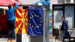 The EU has given North Macedonia formal approval to begin talks to join the bloc.
