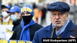 Владимир Жириновский на митинге ЛПДР, 25 октября 2020 г.