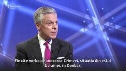 """""""Sancțiunile nu sunt un instrument pe termen scurt"""". Ambasadorul SUA în Rusia despre Kremlin și Ucraina"""