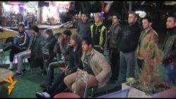 بغداد تحتفل بفوز المنتخب