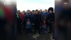 Дербент: сотни людей не могут попасть домой в Азербайджан