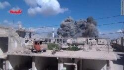 Бамбаваньне сырыйскіх правінцый Хомс і Хама