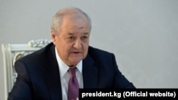 Ўзбекистон ташқи ишлар вазири Абдулазиз Комилов