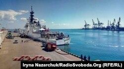 Судно Берегової охорони США Hamilton у порту Одеси