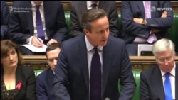 Cameron Calls For U.K. Air Strikes In Syria