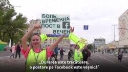Maraton cu 1000 de participanți la Tiraspol, pe fundalul creșterii statisticilor de îmbolnăviri de Covid-19