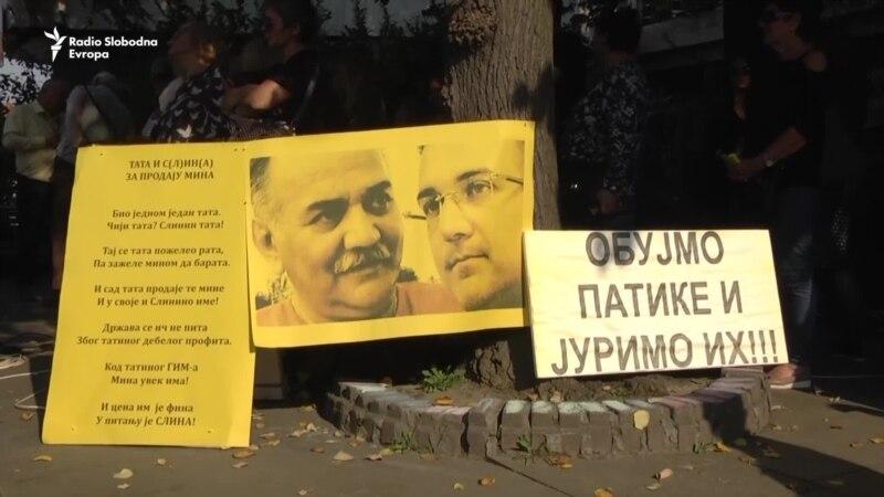 Valjevo: Protest podrške uzbunjivaču iz 'Krušika'