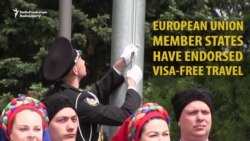 Ukrainians Welcome Visa-Free Travel To EU