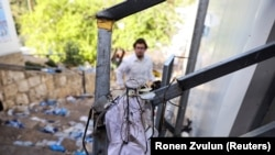 Pamje nga vendi ku ka ndodhur incidenti Izrael.