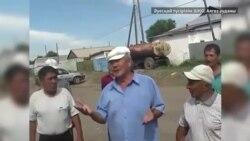 Мамырсу тұрғындары полицияның оқ атқанына наразы