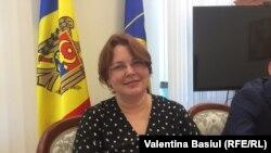 Angela Motuzoc, președinta Consiliului Superior al Procurorilor, Chișinău, 11 august 2021.