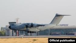 Toshkentdagi mahalliy aeroport Germaniya havo kuchlari evakuatsiyasi uchun ajratildi (Germaniya Mudofaa vazirligi)
