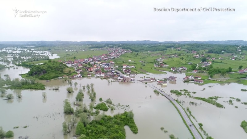 Bosnian Villages Swamped By Floods