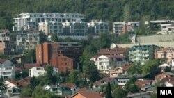 Урбанизација на Водно. Скопје