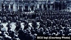 Paradă militară românească, anii 1930