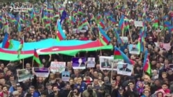 Azerbaijani Opposition Holds Anticorruption Rally In Baku