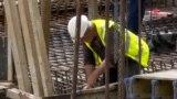 Градежни работници, градилиште