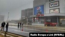 Vendi ku ka ndodhur incidenti në Prishtinë. 18 dhjetor, 2020