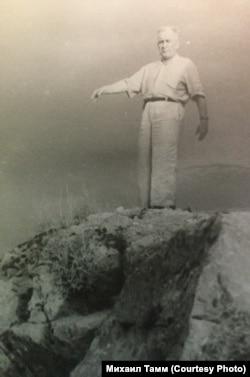 Игорь Тамм на Алтае. Из семейного архива