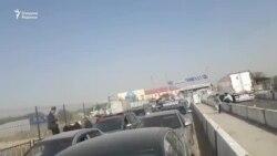 После инцидента с 12 кг героина на узбекско-казахской границе образовалась длинная очередь