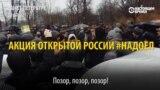 """Задержания в России на акции """"Надоел"""""""