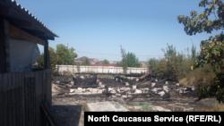 Сгоревший дом блогера Сергея Шалыгина