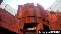 Реакторний зал першого енергоблоку Кримської АЕС