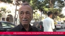 ABŞ Azərbaycanda demokratiya üçün nə edə bilər? [Sorğu]