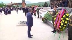 Noul premier armean a vizitat regiunea Nagorno-Karabach