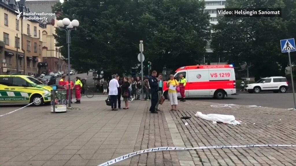 Policia finlandeze raporton për dy të vrarë në sulmin me thikë