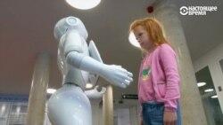 Робот-регистратор поступил на службу в больницу в Бельгии