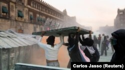Protesti u Meksiko Sitiju, 8. mart 2021.