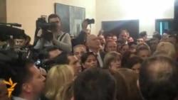 Турканици и блокади во Собранието