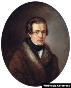 Олексій Кольцов. Портрет роботи Кирила Горбунова. 1838 рік