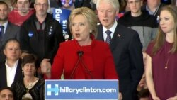 Clinton And Sanders In Iowa Cliffhanger
