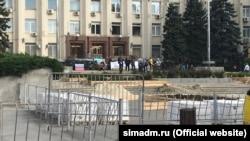 Съемки российского фильма«Солнцепек» в Симферополе